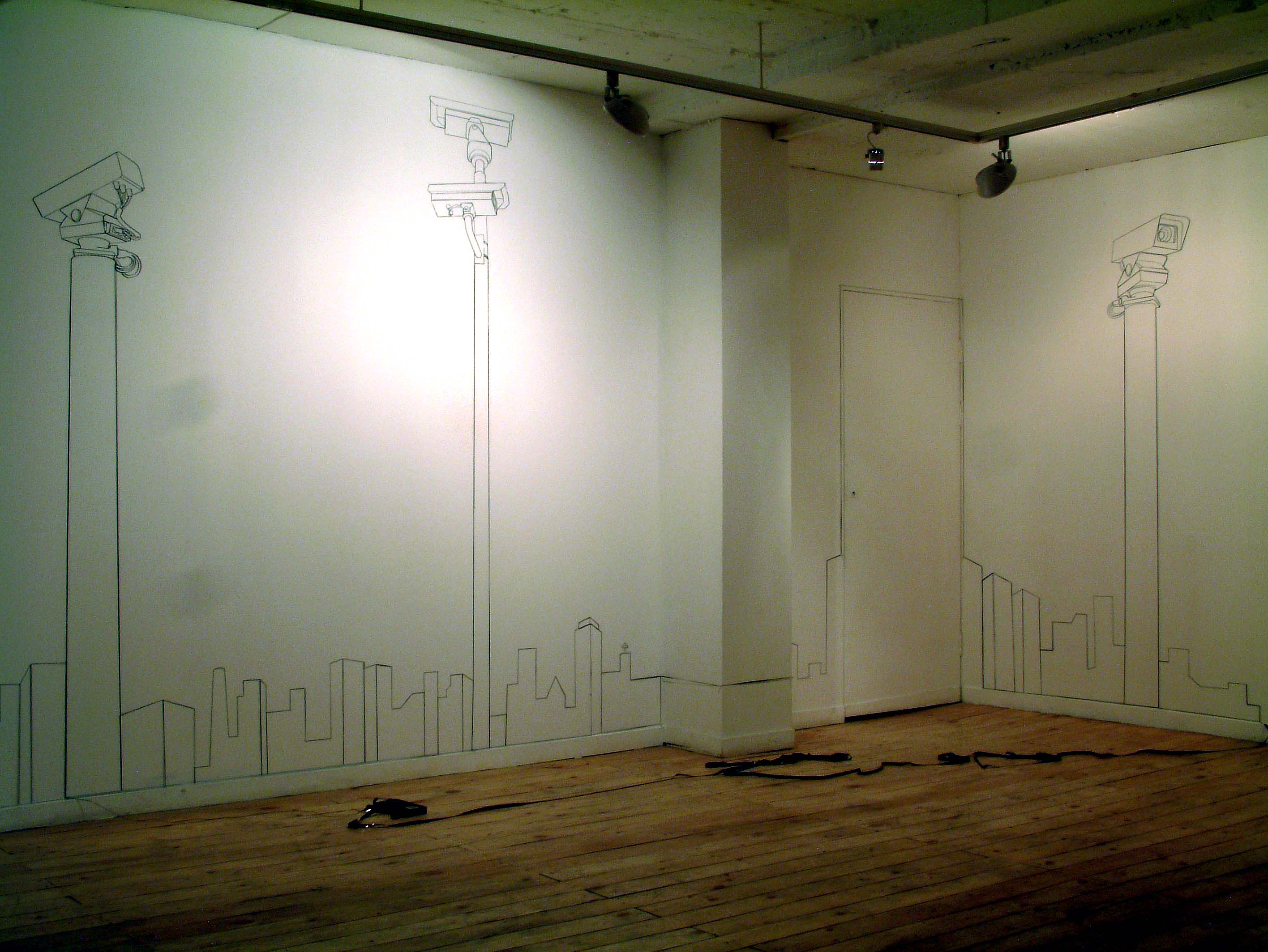 Richard Giblett Solo Exhibition: Ghost Town