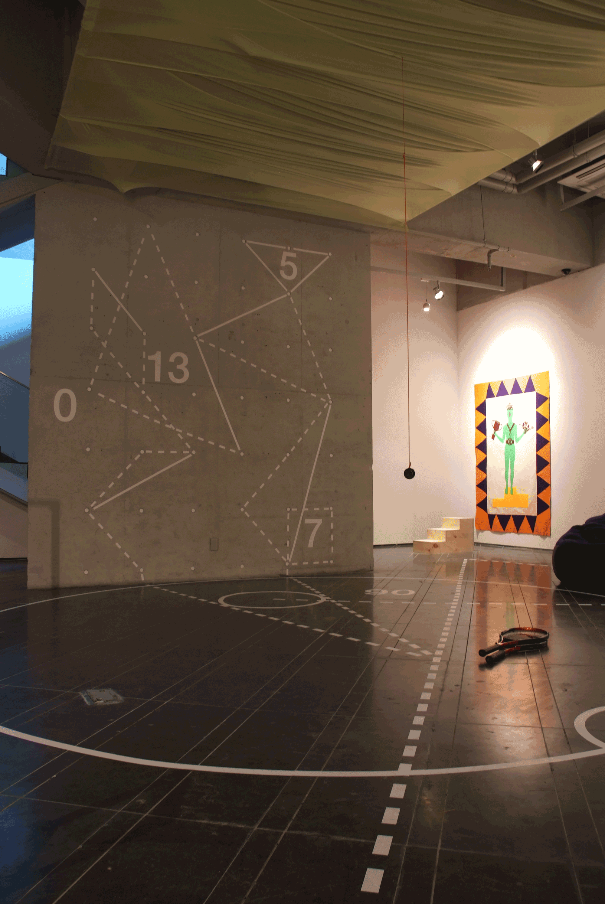 Kang Hyun Ahn Solo Exhibition: Throwing a Dice