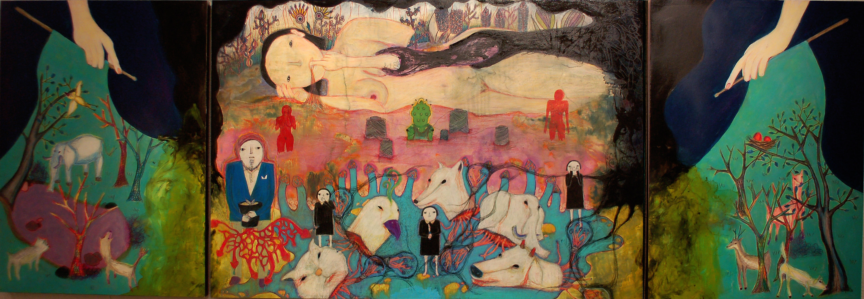 The 4th Exhibition of Painting: Hysterics