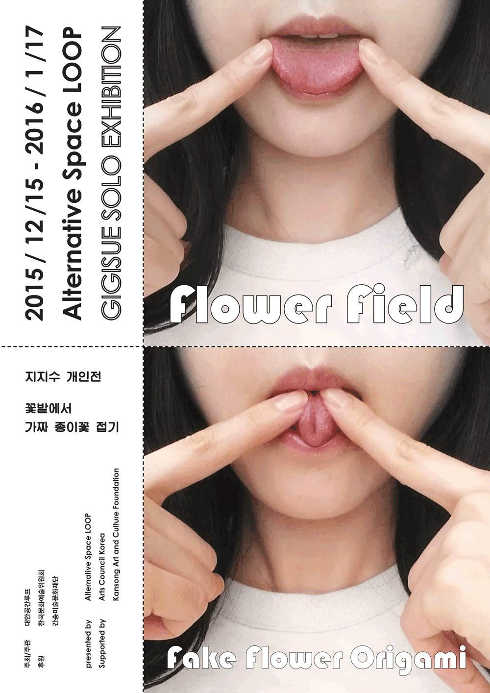 Gi Gi Sue Solo Exhibition: Flower Field Fake Flower Origami