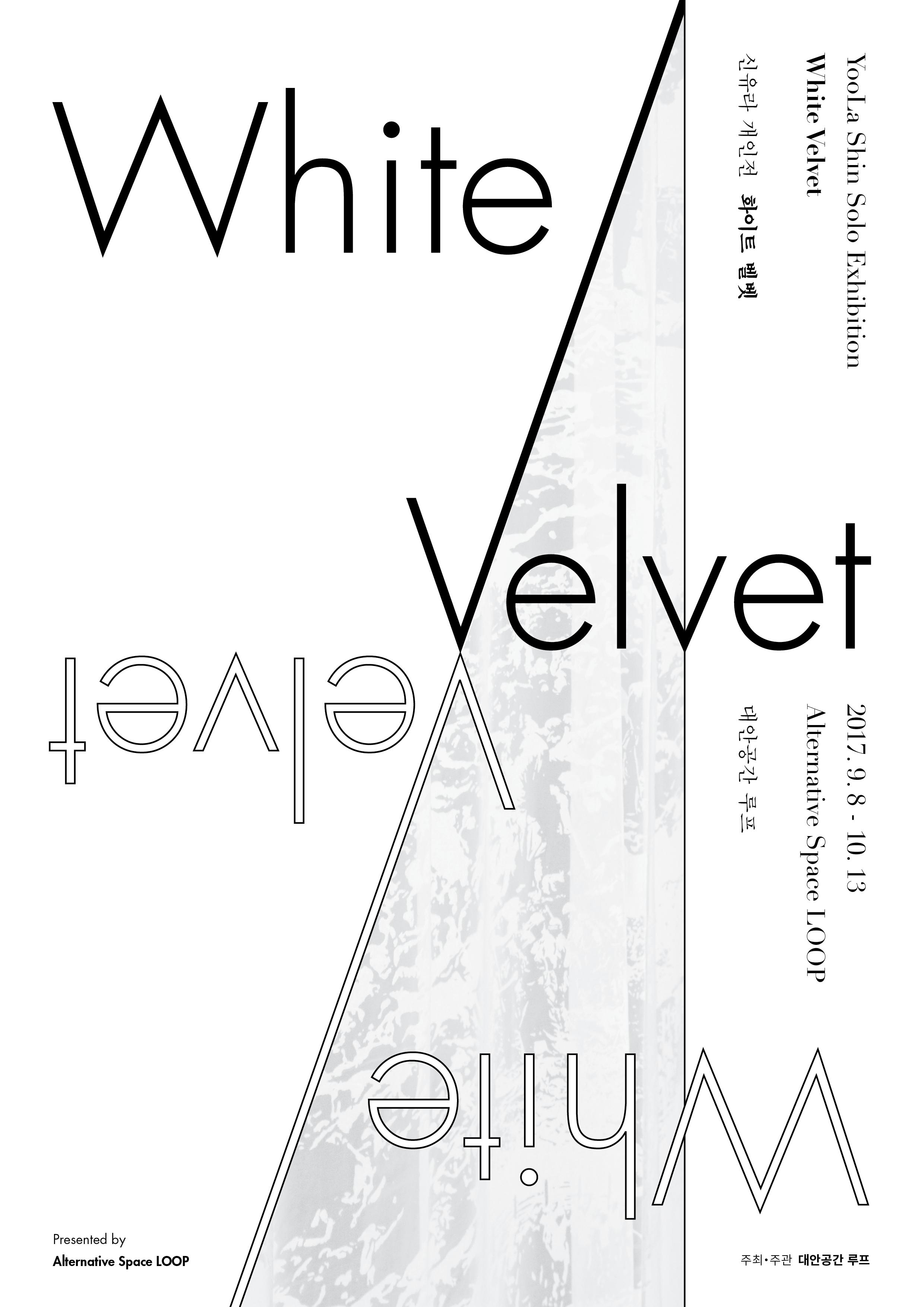 Yoo La Shin Solo Exhibition: White Velvet